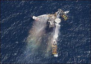 Anadarko и BP эвакуируют часть персонала в Мексиканском заливе