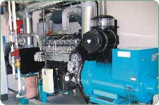 ...и тепла, в них применяются газопоршневые двигатели внутреннего сгорания, приспособленные к работе на биогазе.