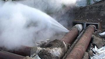 В 2-х районах Новокузнецка капитально ремонтируют тепломагистрали