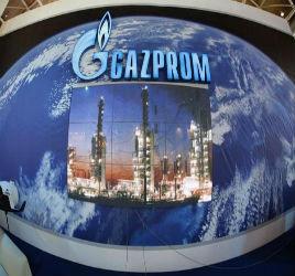 Газпром прокачался на полную