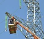 Продолжается реконструкция ВЛ-110 кВ Южно-Кузбасская ГРЭС – Темирская