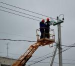 В Воронежской области восстанавливают электроснабжение, нарушенное снегопадом