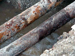 В Ухте запрещен водозабор из реки, загрязненной нефтепродуктами