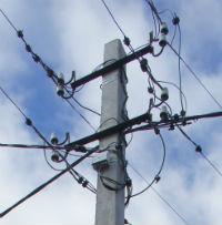 В районах Марий Эл восстанавливают нарушенное грозой электроснабжение