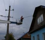 В Ленобласти восстанавливают электроснабжение