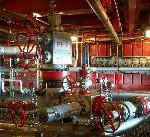 На Маяковской ТЭС в Калининградской области ведется монтаж вспомогательного оборудования