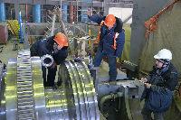 Турбина на пусковом ЭБ-4 Ростовской АЭС готова на 70%