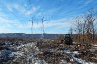 На межгосударственной ВЛ-500 кВ Амурская – Хэйхэ расчищено 450 га просек