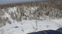Кузбассэнерго-РЭС обследовало с воздуха 182 км транзитных ВЛ-110 кВ