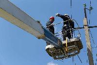 Амурские электросети оперативно восстановили электроснабжение, прерванное из-за сильного ветра