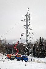 В Коми завершается строительство ВЛ-110 кВ в Ухтинском и Сосногорском районах