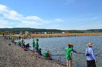 Красноярская ГЭС помогла провести рыболовный фестиваль «Карасенок»