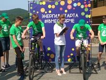 Во Всероссийском лагере «Океан» школьники применяют альтернативные источники энергии и вырабатывают электричество