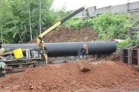 В Кемерове завершается капремонт участка тепломагистрали