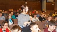 В рамках Российского энергофорума состоялось неформальное общение со студенчеством