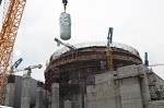 Корпус реактора строящегося ЭБ-2 ЛАЭС-2  успешно установлен на штатное место