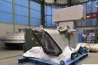 Начат процесс приварки российского верхнего патрубка к сегменту вакуумной камеры ИТЭР