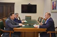 Управляющий директор ТНС энерго Кубань провел рабочую встречу с главой Адыгеи