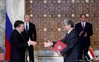 РФ и Египет подписали акты о вступлении в силу контрактов на сооружение АЭС Эль Дабаа