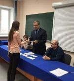 Энергетики ДРСК наградили студентов АмГУ