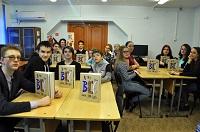 В День Российской науки школьники Кодинска получили в подарок от энергетиков альманах «Хочу все знать»