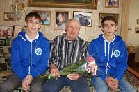 Сотрудники Читаэнерго навестили ветеранов Великой Отечественной войны