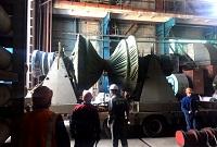 Генерирующее оборудование Кемеровской ГРЭС отправлено в Екатеринбург для восстановительного ремонта