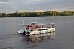 В Москве представили первый катамаран на отечественных солнечных элементах
