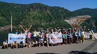 Красноярская ГЭС провела экологическую акцию «Дивному городу – первозданную природу»