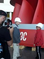 На Красноярской ГЭС прошли съемки телепрограммы «Орел и решка»