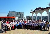 На акцию «оБЕРЕГАй» в Кодинске вышли более 100 человек