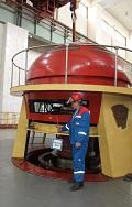 На Чебоксарской ГЭС реконструируют ГА-11