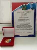 Приморским северным электросетям вручена медаль за вклад в развитие края