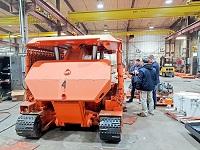 """На шахте """"Межегейуголь"""" в Тыве впервые в РФ введена в эксплуатацию самоходная крепь"""