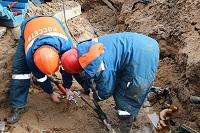 КЛ-6 кВ повредили строители в центре Пскова