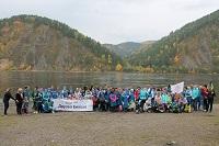 Красноярская ГЭС провела экологическую акцию «Друзья Енисея»