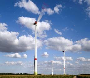 В Калининградской области введен 1-й в РФ полностью цифровой ветропарк