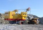 На Эльгинском угольном месторождении запущен мощный карьерный экскаватор ЭКГ-18